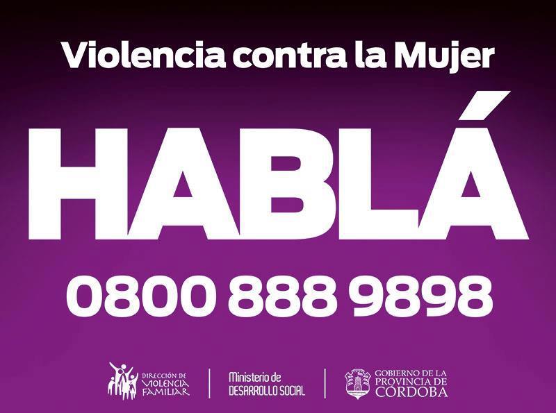 ... telefónico nacional 144 para denuncias de violencia de género