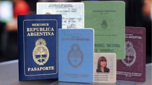 documentos para viajar al exterior
