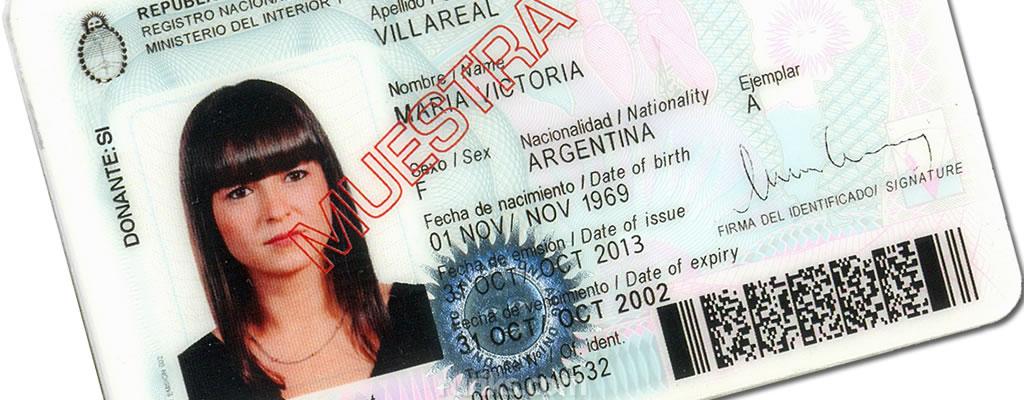 Documentos necesarios para viajar al extranjero for Ministerio del interior argentina