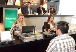 Maletines del registro civil móvil en Córdoba