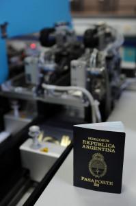 Nuevo Pasaporte con chip