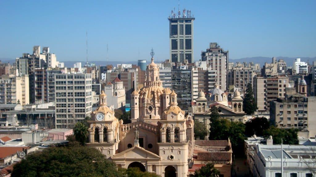 Vista panoramica del centro civico cordobes