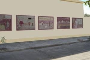 Murales despues de la restauracion
