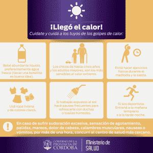 Consejos para evitar Golpes de calor