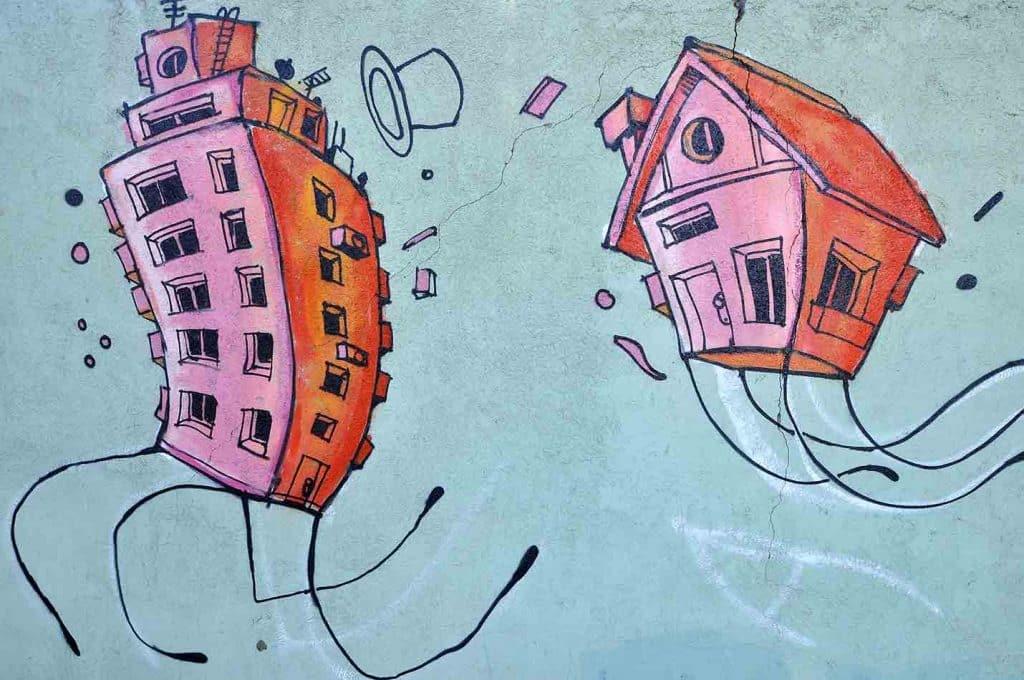 Mural en parque de las tejas