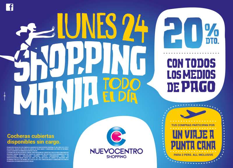 shopping mania en nuevocentro shopping