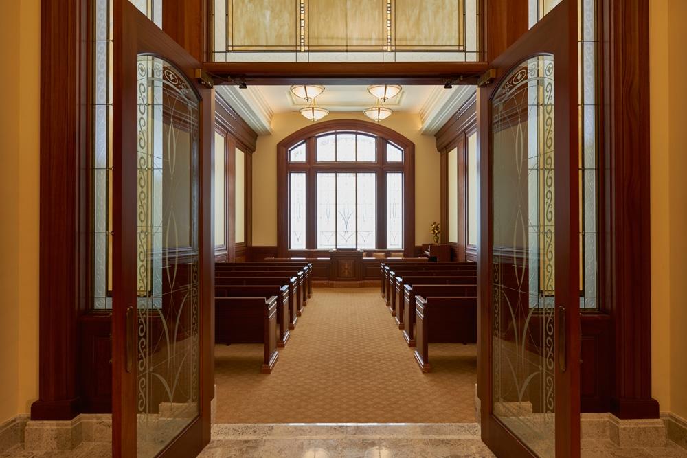 Capilla de la La Iglesia de Jesucristo de los Santos de los Últimos Días