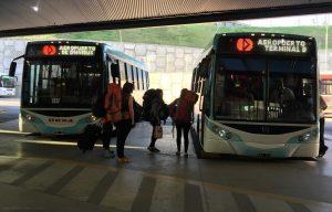 Los colectivos inician y finalizan su recorrido en la nueva terminal de ómnibus