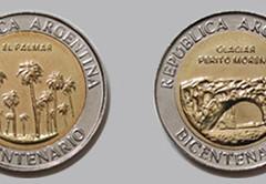 Monedas de $1 que aluden al Bicentenario