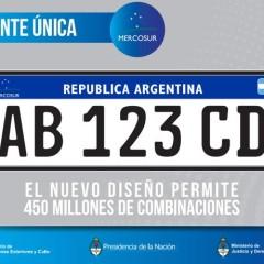 Se presentó la nueva patente del Mercosur